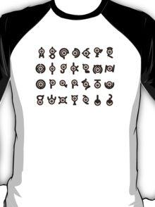 Unown Alphabet T-Shirt