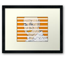 Locke Down Framed Print