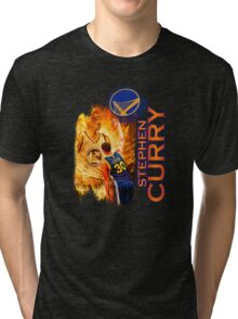 Stephen Curry #30 Tri-blend T-Shirt