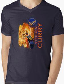 Stephen Curry #30 Mens V-Neck T-Shirt