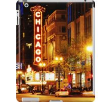 Chicago Theater iPad Case/Skin