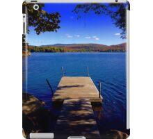 Racket Lake iPad Case/Skin