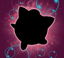 Super Smash Bros. Jigglypuff Silhouette by jewlecho