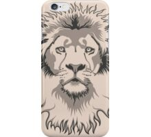 Lion Head iPhone Case/Skin