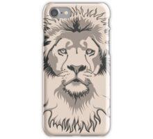 Lion Head iPhone Case/Skin