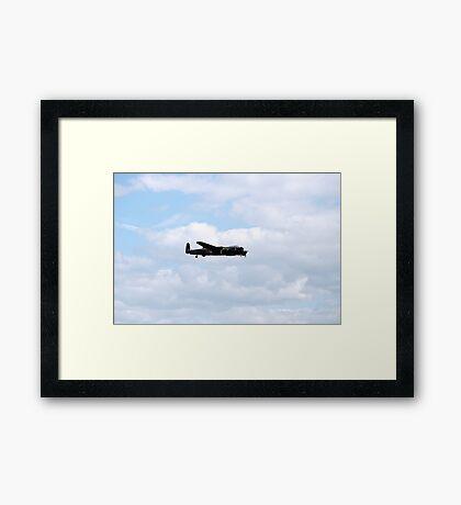 Lancaster Bomber Framed Print