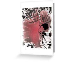 slave / skull Greeting Card