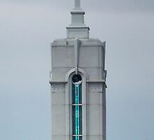 Mount Timpanogos Temple Spire by Ryan Houston