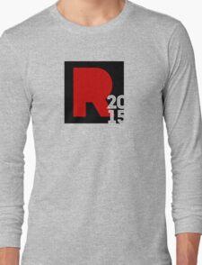 "REMEDY 2015 ""R2015"" LOGO Long Sleeve T-Shirt"