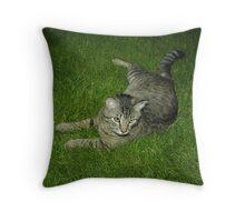 ARLEN /  MY TOM CAT Throw Pillow