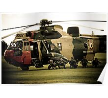 Seaking Crew at rest Poster