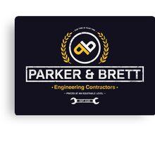Parker & Brett Canvas Print
