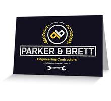 Parker & Brett Greeting Card