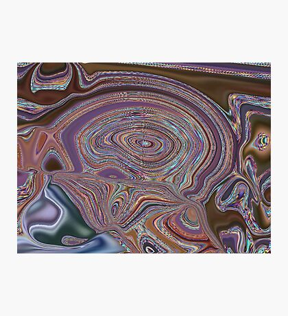 A Brain Gone Crazy Photographic Print