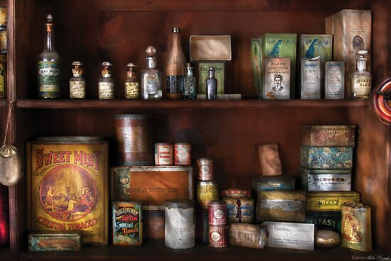 Rum and Tobacco by Mike  Savad