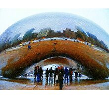 Chicago from the Bean Photographic Print