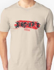 mcbusted red Unisex T-Shirt