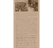 Lincoln and The Gettysburg Address by warishellstore