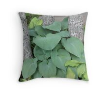 Held HOSTAge Throw Pillow
