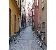 Cyklist Photographic Print