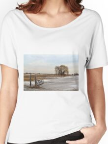Entrance to the Willow Women's Relaxed Fit T-Shirt