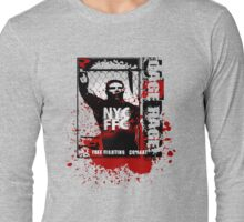 free fighting combat Long Sleeve T-Shirt
