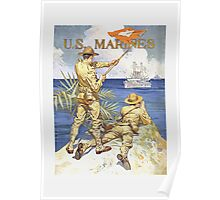 US Marines Poster Poster