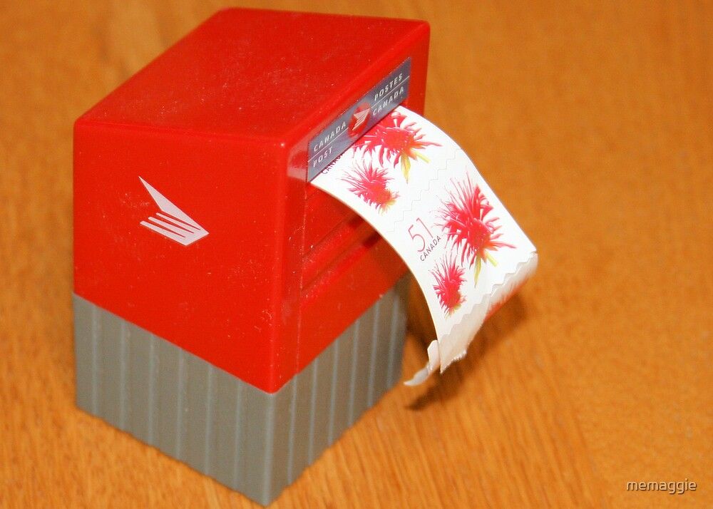 My little mailbox for my stamps by memaggie