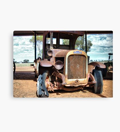 Old Federal Truck Canvas Print