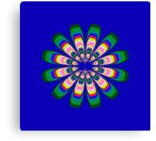 Sterling Flower Canvas Print