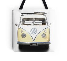 Volkswagen Kombi Newsprint © Tote Bag