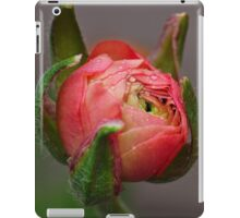 A pink bud iPad Case/Skin
