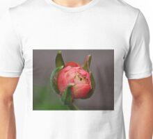 A pink bud Unisex T-Shirt