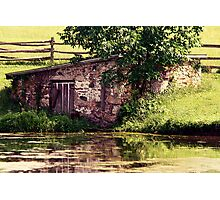 Old Springhouse Photographic Print