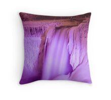 Niagara at Night Throw Pillow