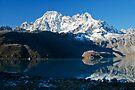 Glorious Machhermo Peak by Richard Heath