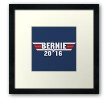 Bernie Sanders 2016 Progressive Democrat Framed Print