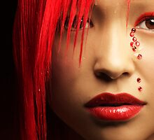 Bloody Red by californiagirl
