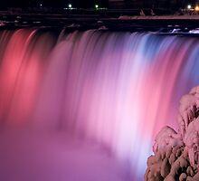 Nightfall at Niagara by Mark Van Scyoc