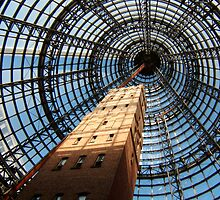 Melbourne shot tower by John Witte