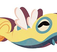 dunsparce. by scribblekisses
