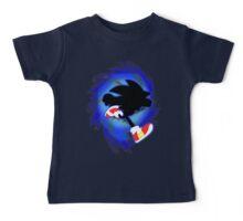 Super Smash Bros. Sonic Silhouette Baby Tee