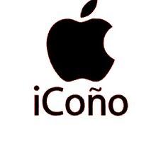 iCono Apple Spanish bad word, Phone case, Coffee mug, shirt. by FLPIP