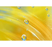 Painted yellow Photographic Print