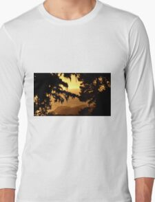 #221  Sunset Near Yankee Point Long Sleeve T-Shirt