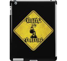 Tiny Tina Badass Crossing (Worn Sign) iPad Case/Skin