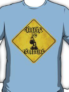 Tiny Tina Badass Crossing (Worn Sign) T-Shirt