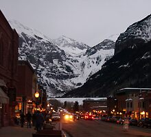 Telluride at Dusk by LostJourney