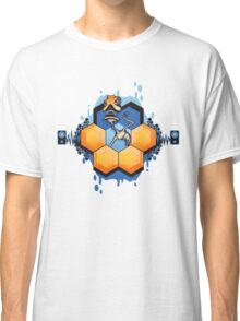 Blue Honey Mushroom Head Classic T-Shirt