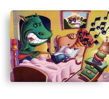 The Creatures are stirring. Canvas Print